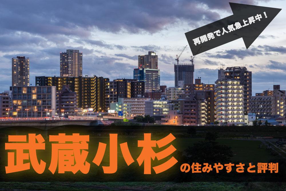武蔵小杉の住みやすさと評判、相場・スポット:再開発で人気急上昇中の注目エリア